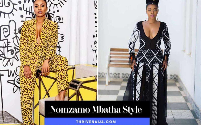 nomzambo mbatha style