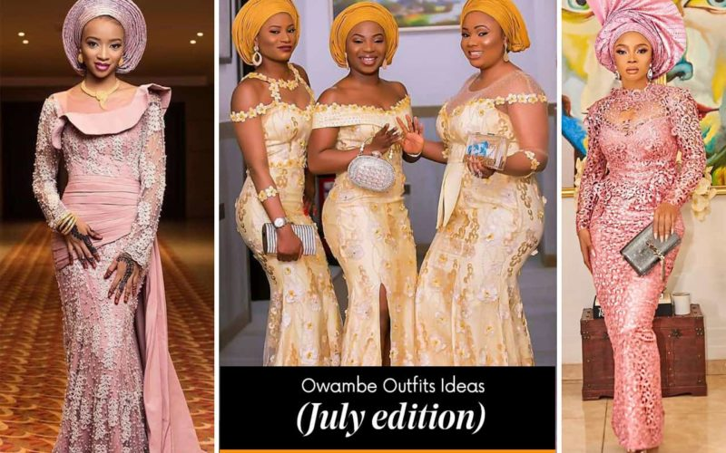 owambe outfit ideas july