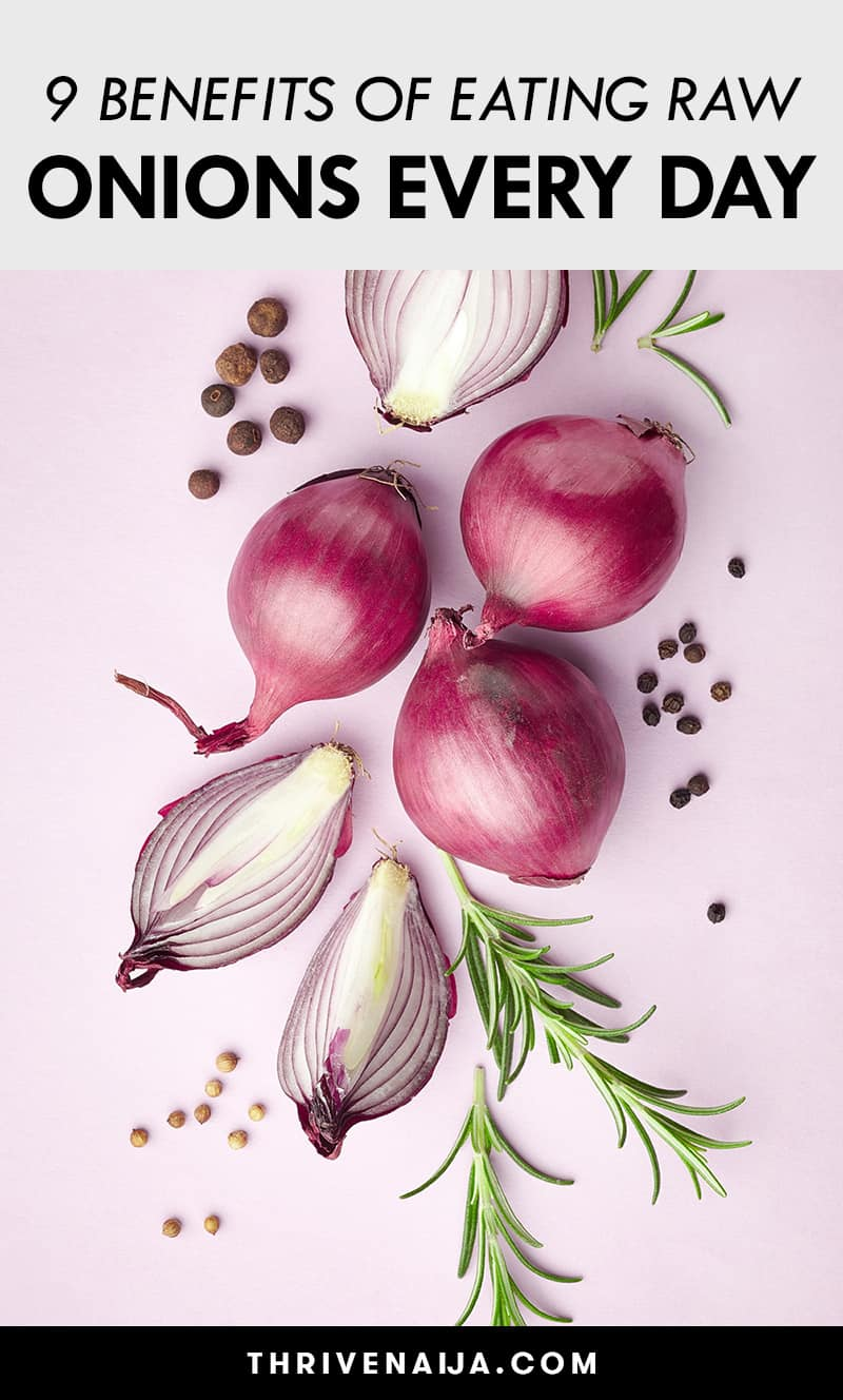 benefits of eating raw onions every day