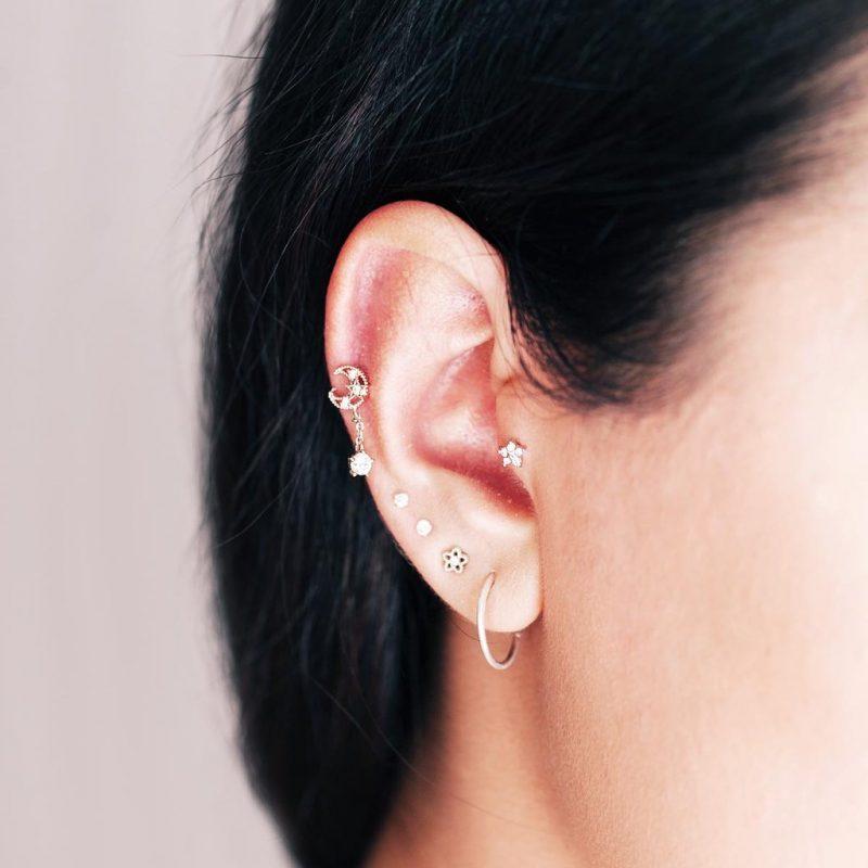 Types of body piercing