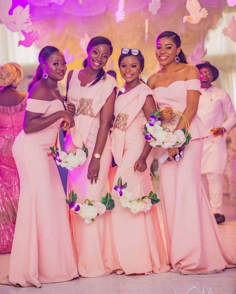 Beautiful bridesmaid idea