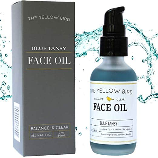 Balancing Blue Tansy Face Oil – Skin Brightening Serum