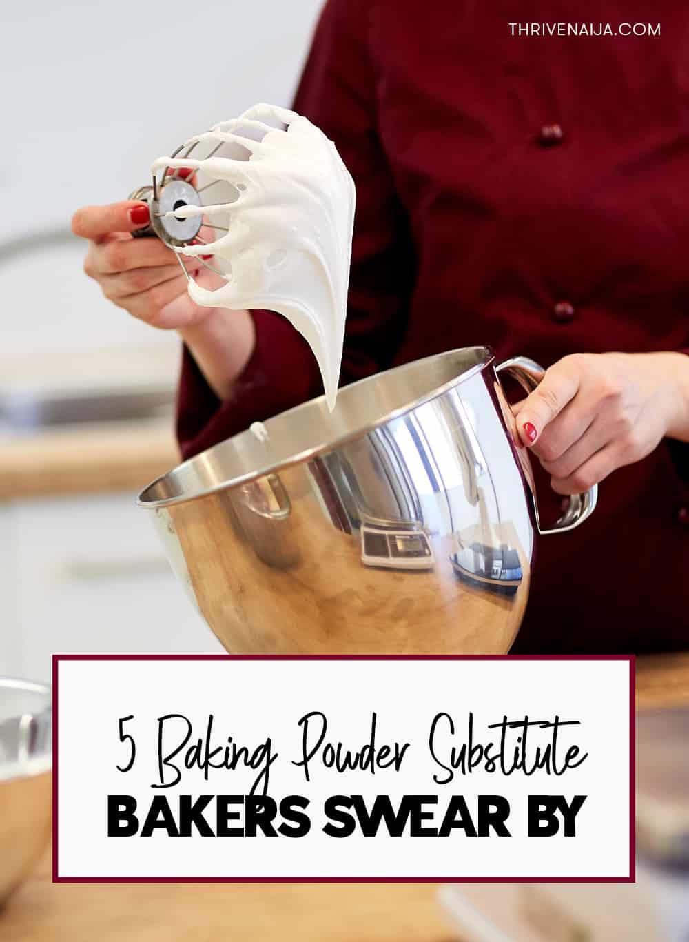 Baking powder substitutes