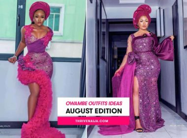 owambe outfit ideas august edition