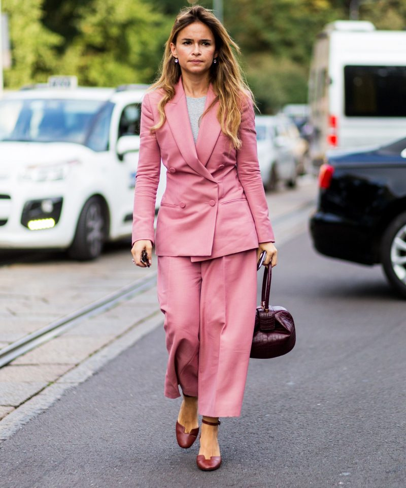 Stylish pantsuit
