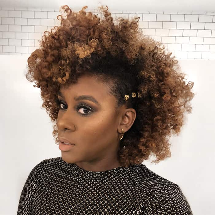 Curly hairstyles for natural hair
