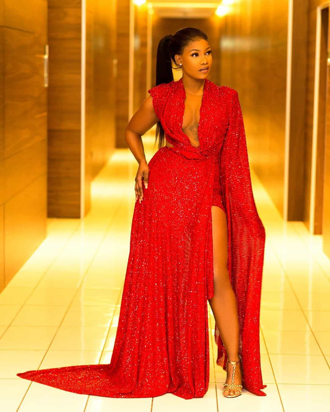 Celebrities with styles at headies
