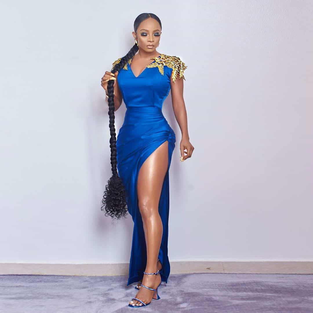 Celebrities with styles at the headies