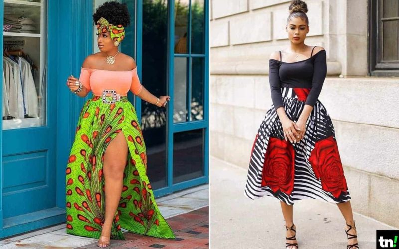 updated ankara skirt styles 2019