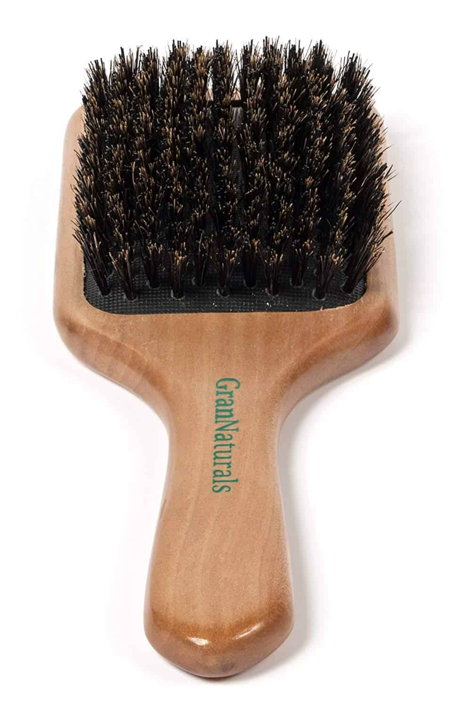 GranNaturals Boar Bristle Hair Brush for Women and Men