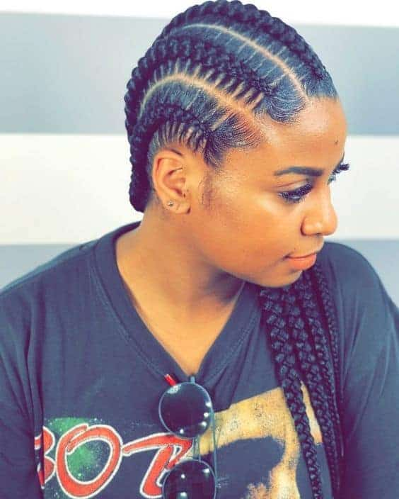 Africa Braid Hairstyle