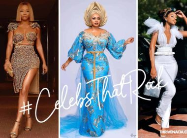 celebs that rock thrivenaija 4