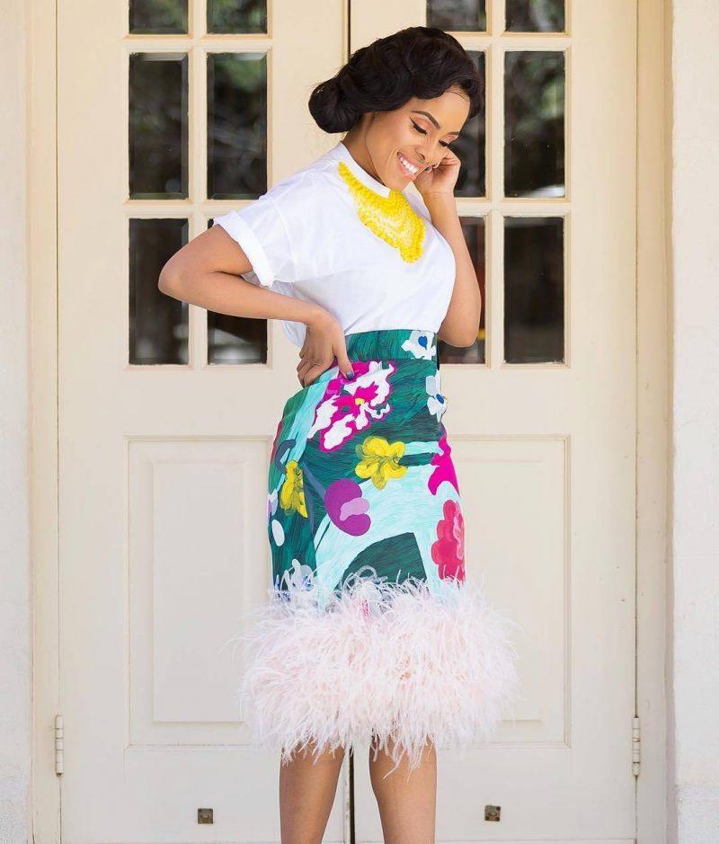 skirt ankara style