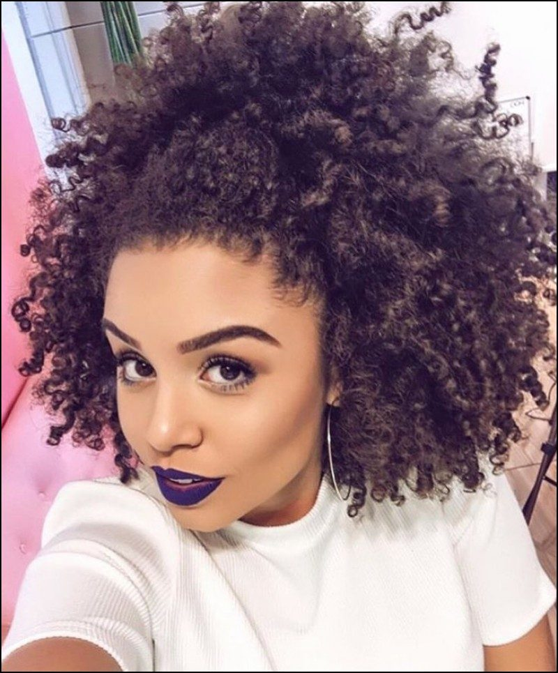 natural hair curly hairstyles