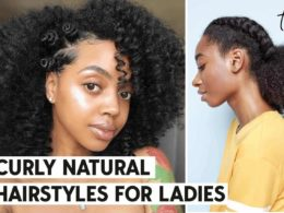 curly natural hair hairstyles ideas