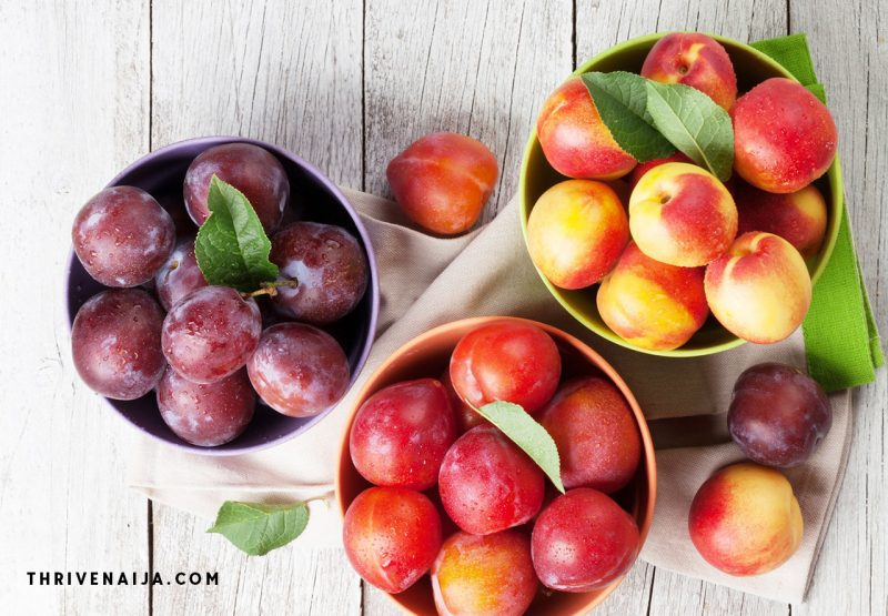peaches from low sugar fruits