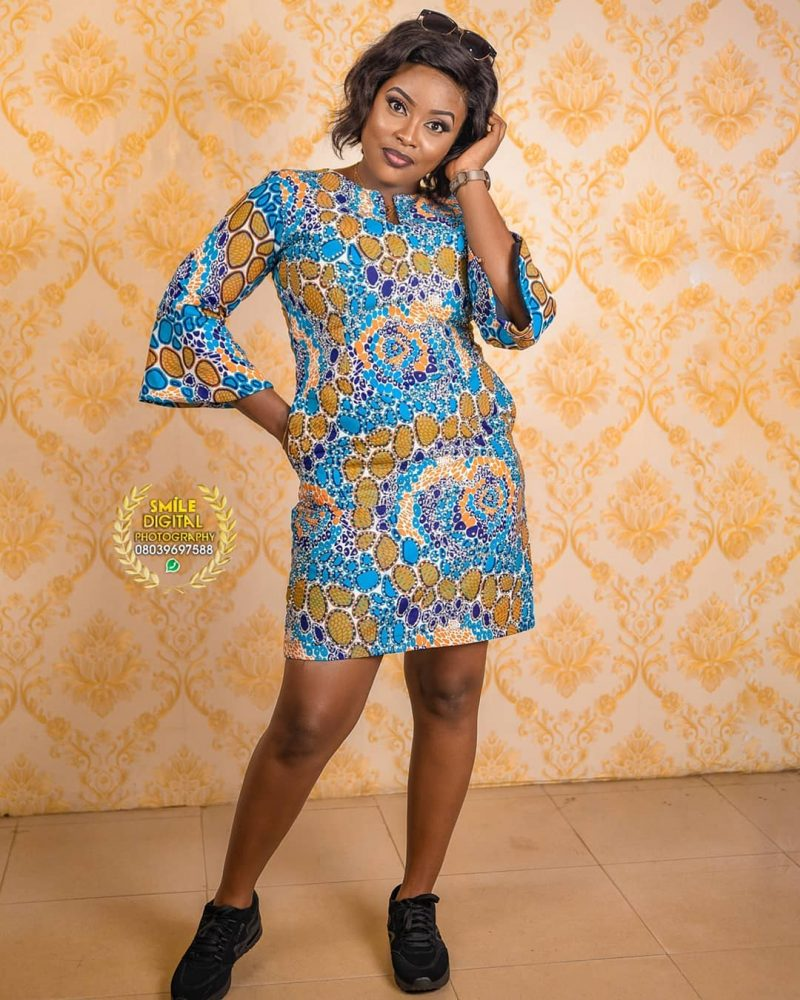 short ankra gown styles