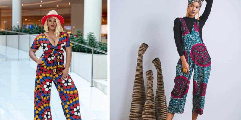 latest African jumpsuit ideas