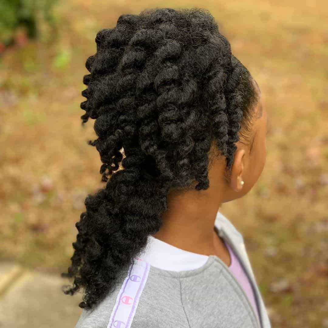 natural hair hairstyles for kids