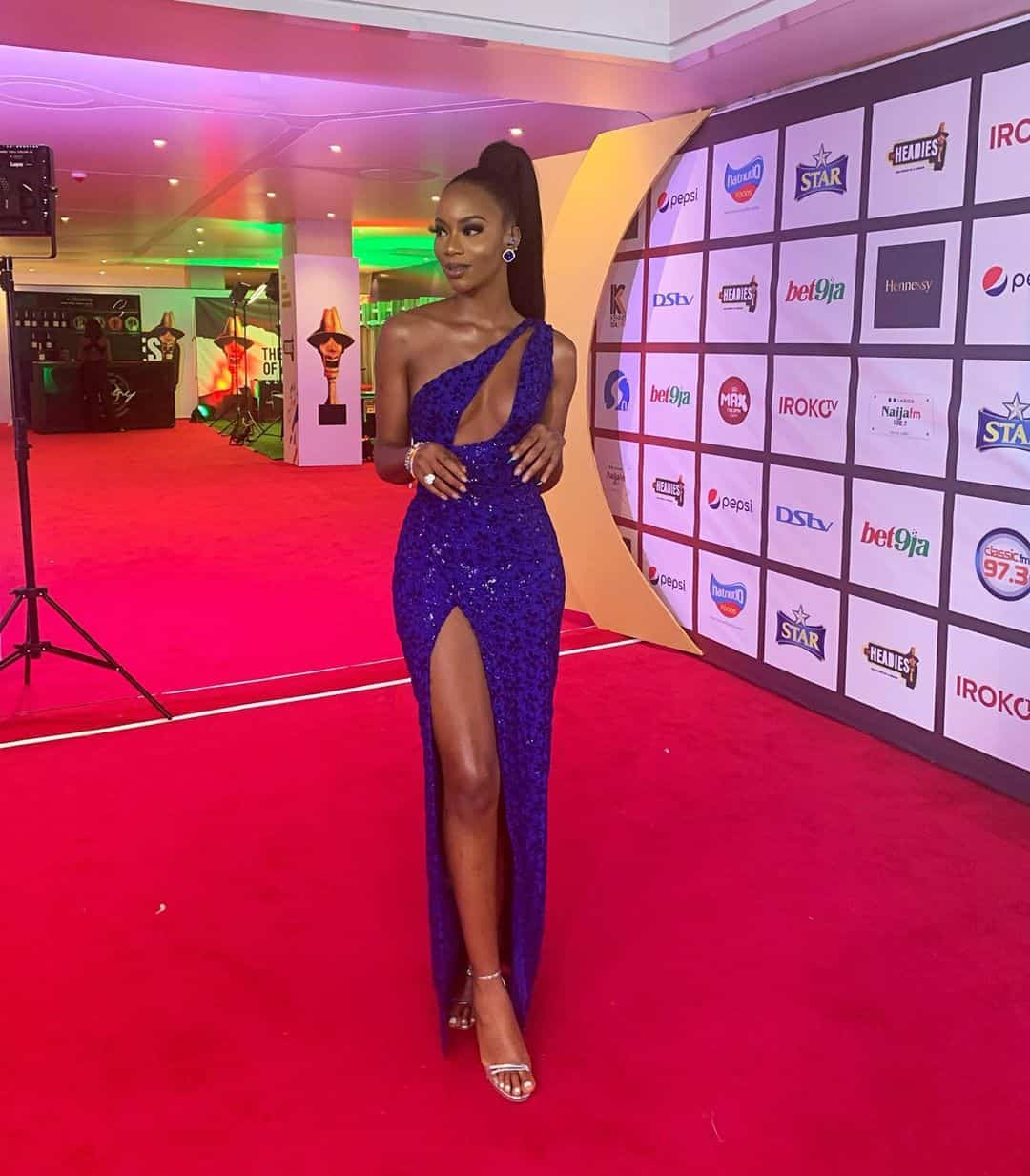 celebrities with style at the headies
