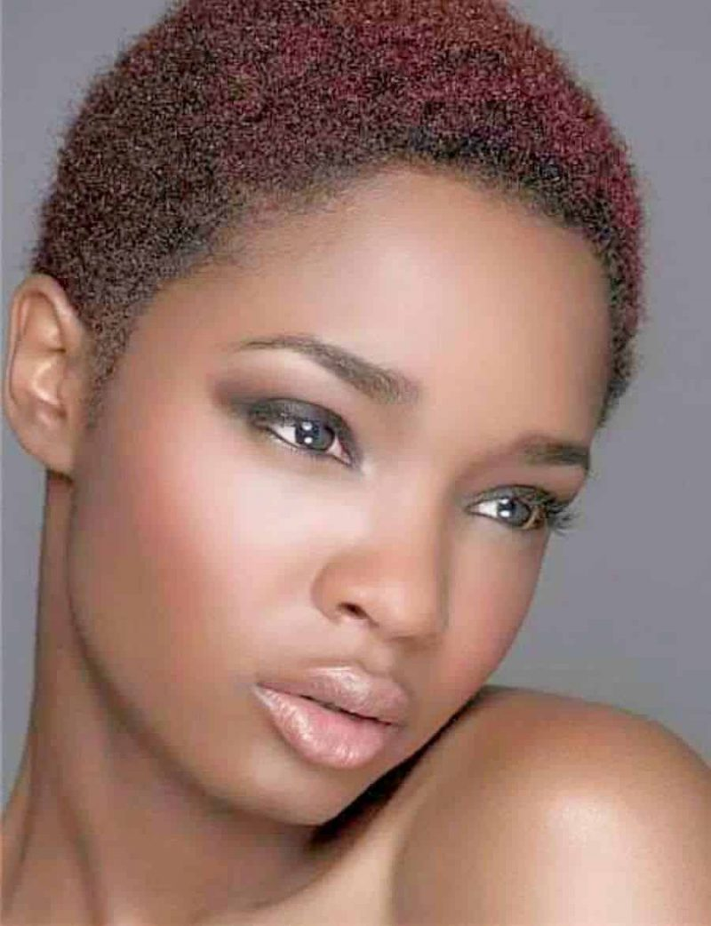 short hairstyles with natural hair