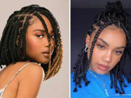 short box braid hairstyle ideas