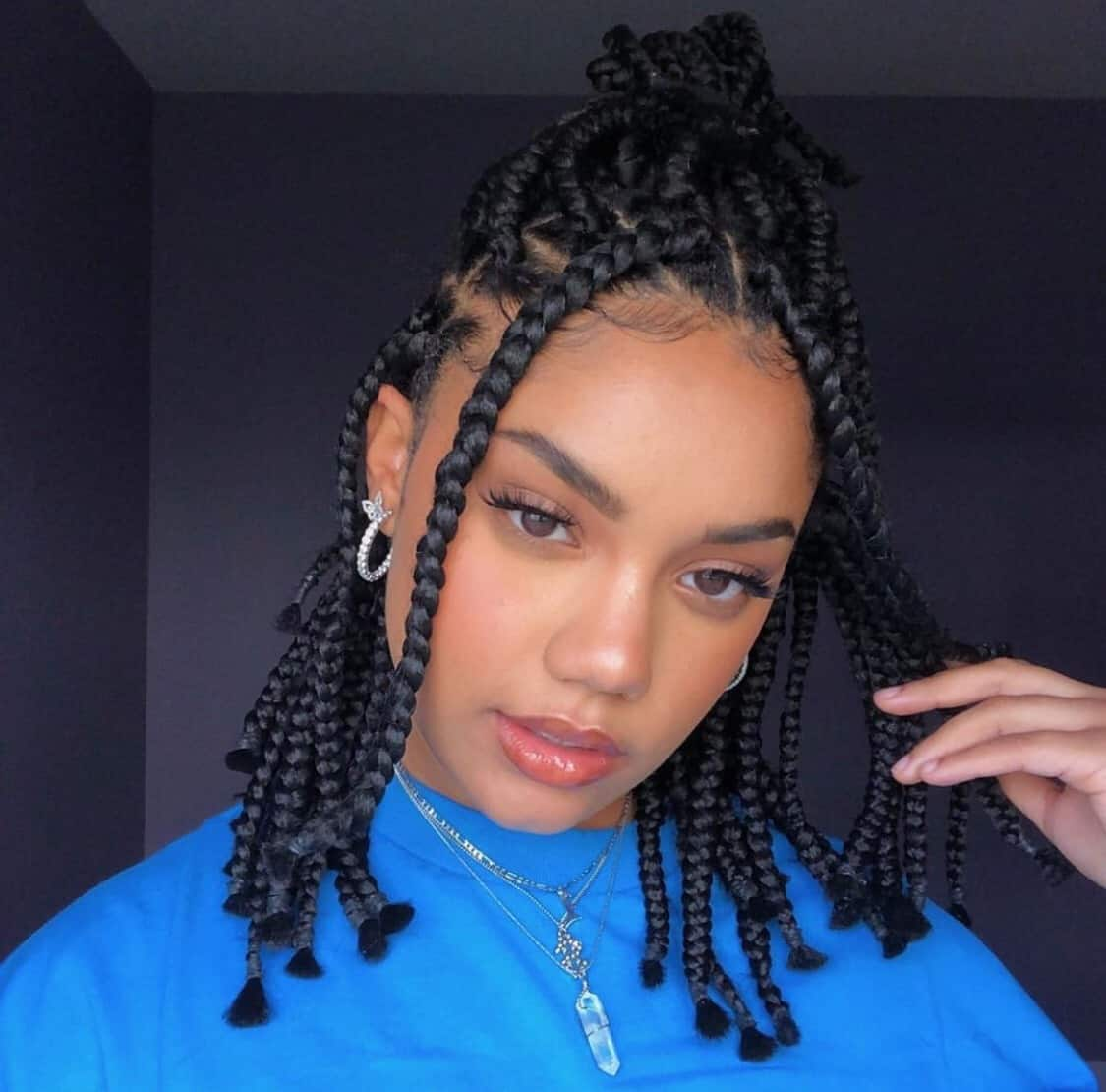 short box braid