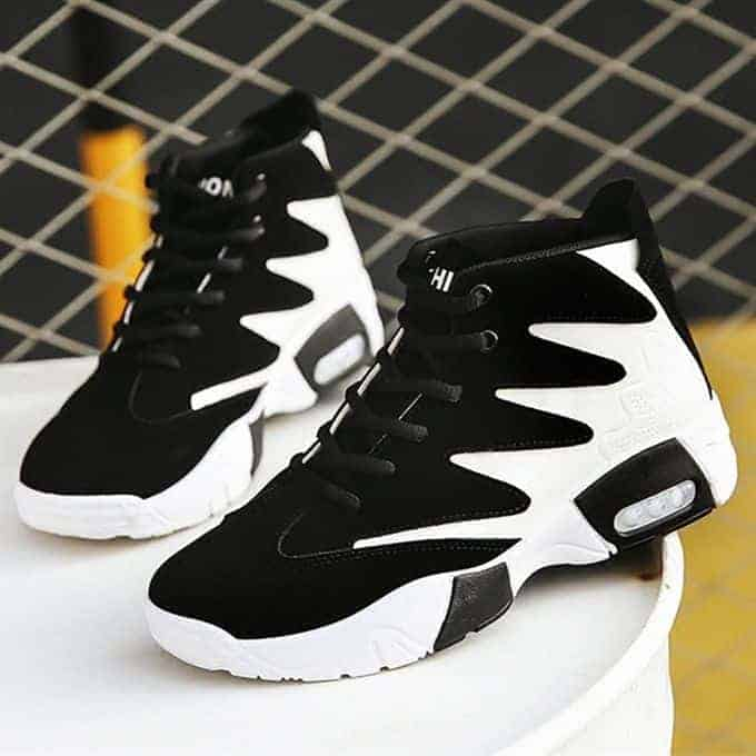 Elegant Designer Athletic Ankle Sneakers