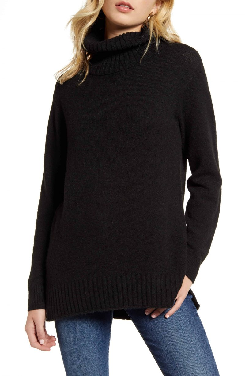 BP Longline Turtleneck Sweater