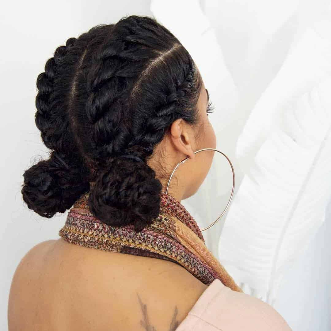easy and cute hairstyle