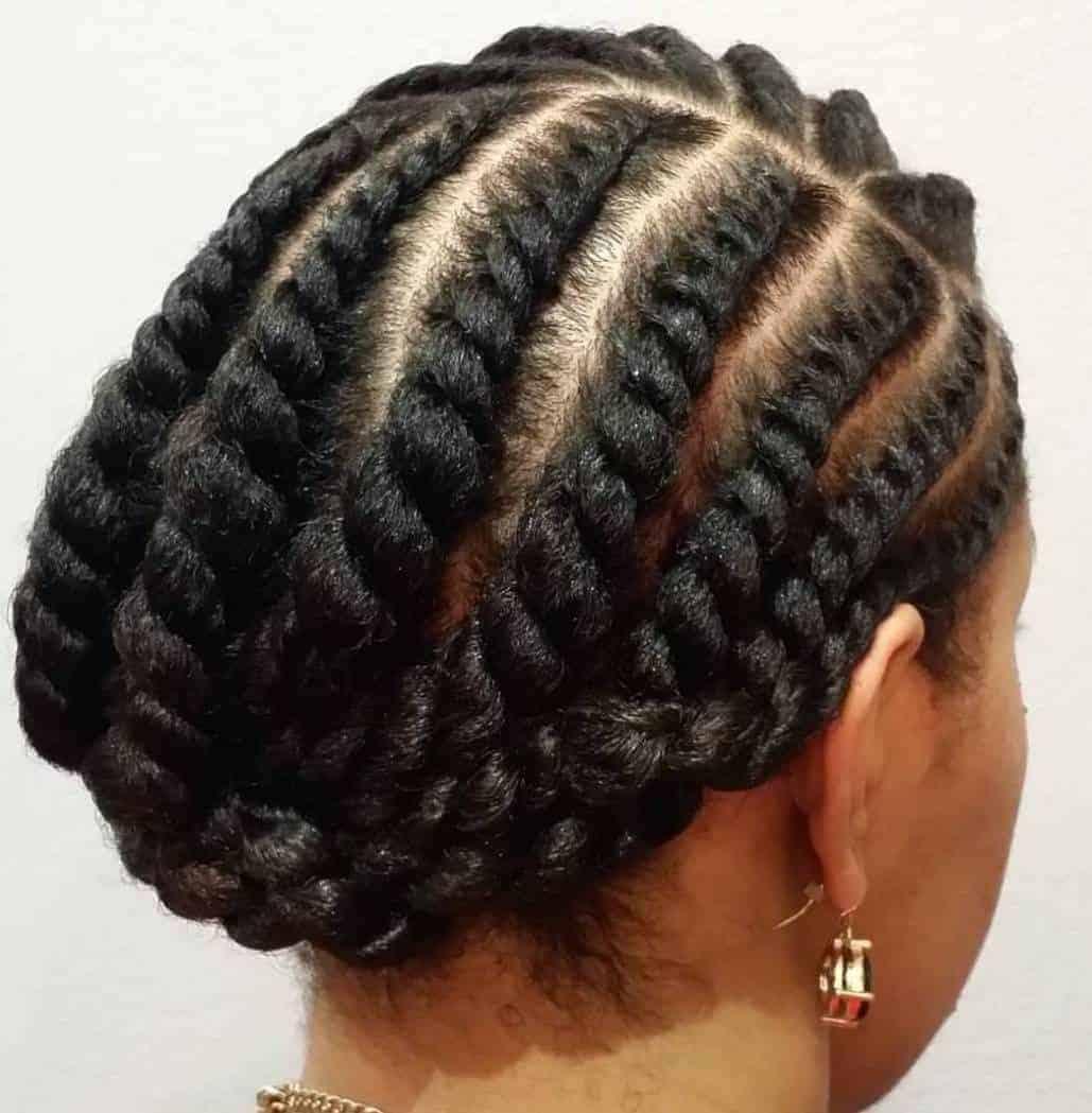 natural hair hjairstyle