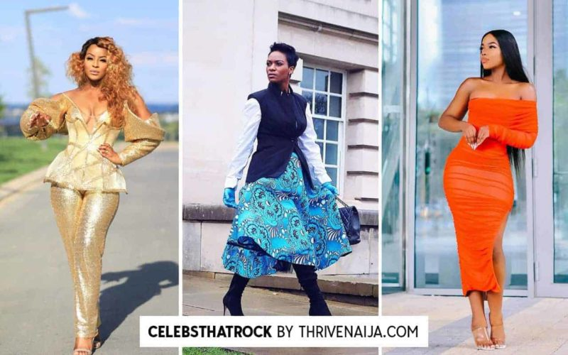 celebs that rock by thrivenaija