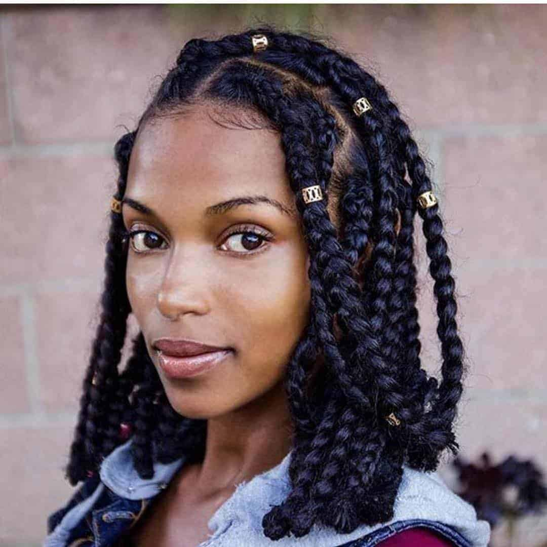 box braid hairstyle