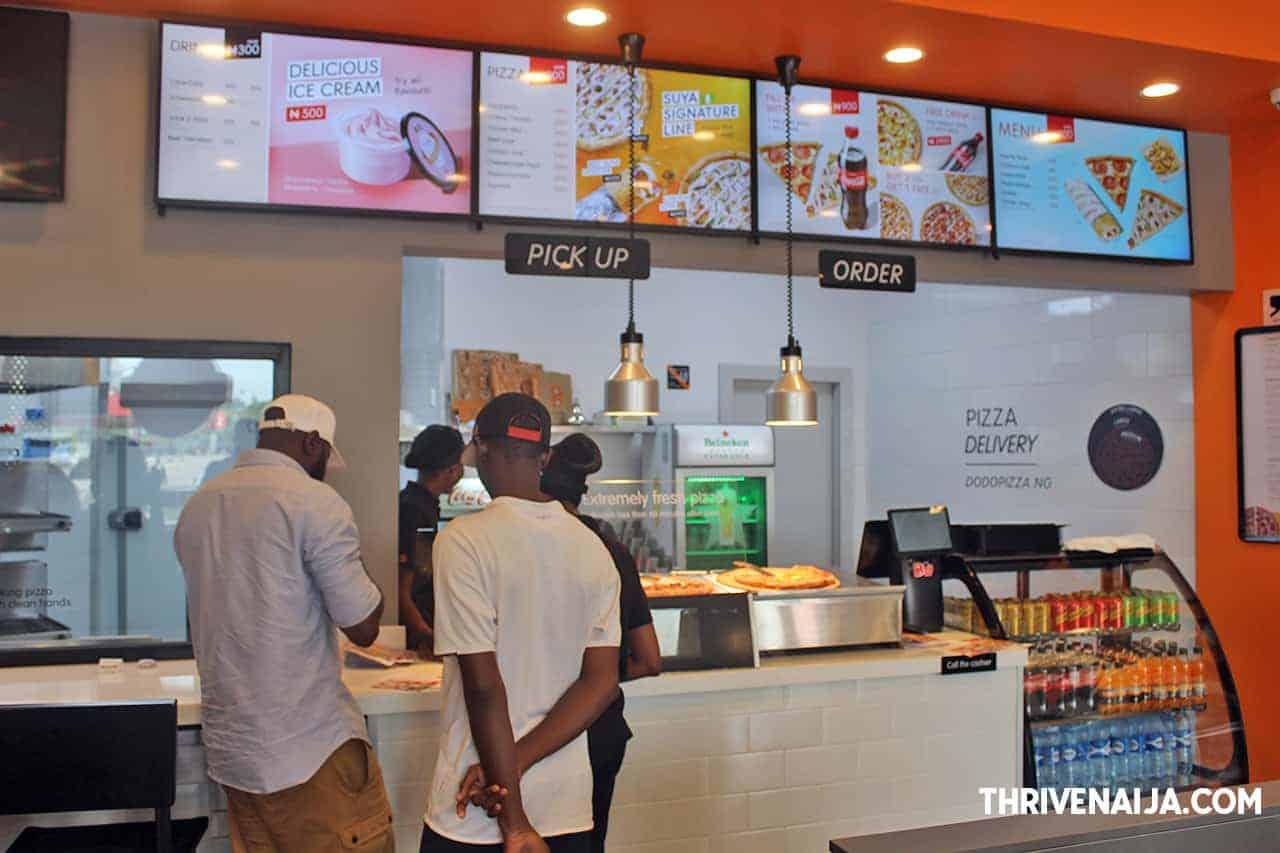 Dodo Pizza review by ThriveNaija