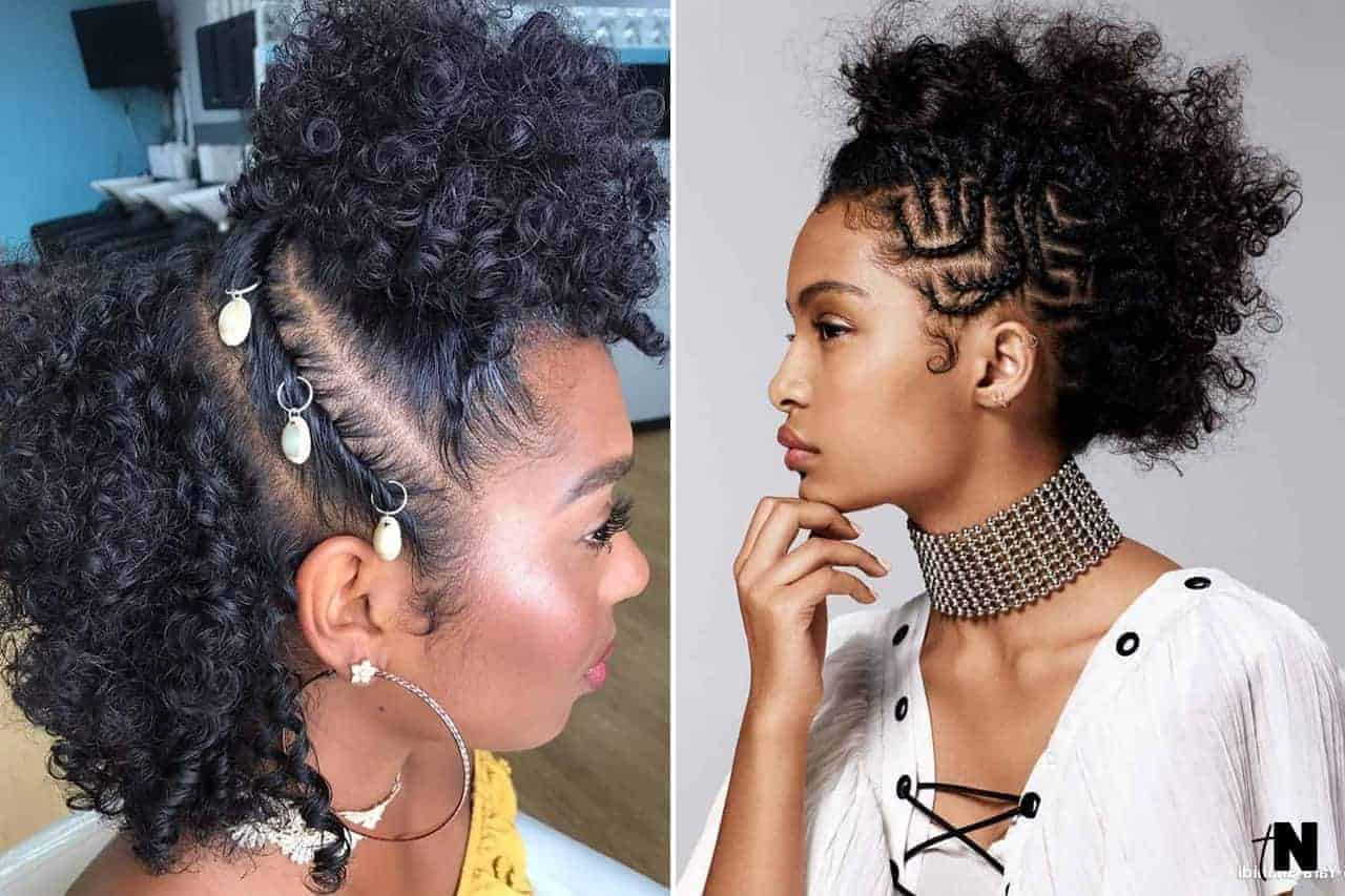 40 Different Ways To Style Your Natural Hair At Home Thrivenaija