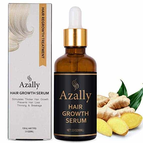 AZALLY Hair Growth Serum, Ginger Hair Growth Oil
