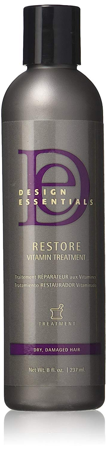 Design Essentials Restore Vitamin Treatment for Natural Dry Damaged Hair