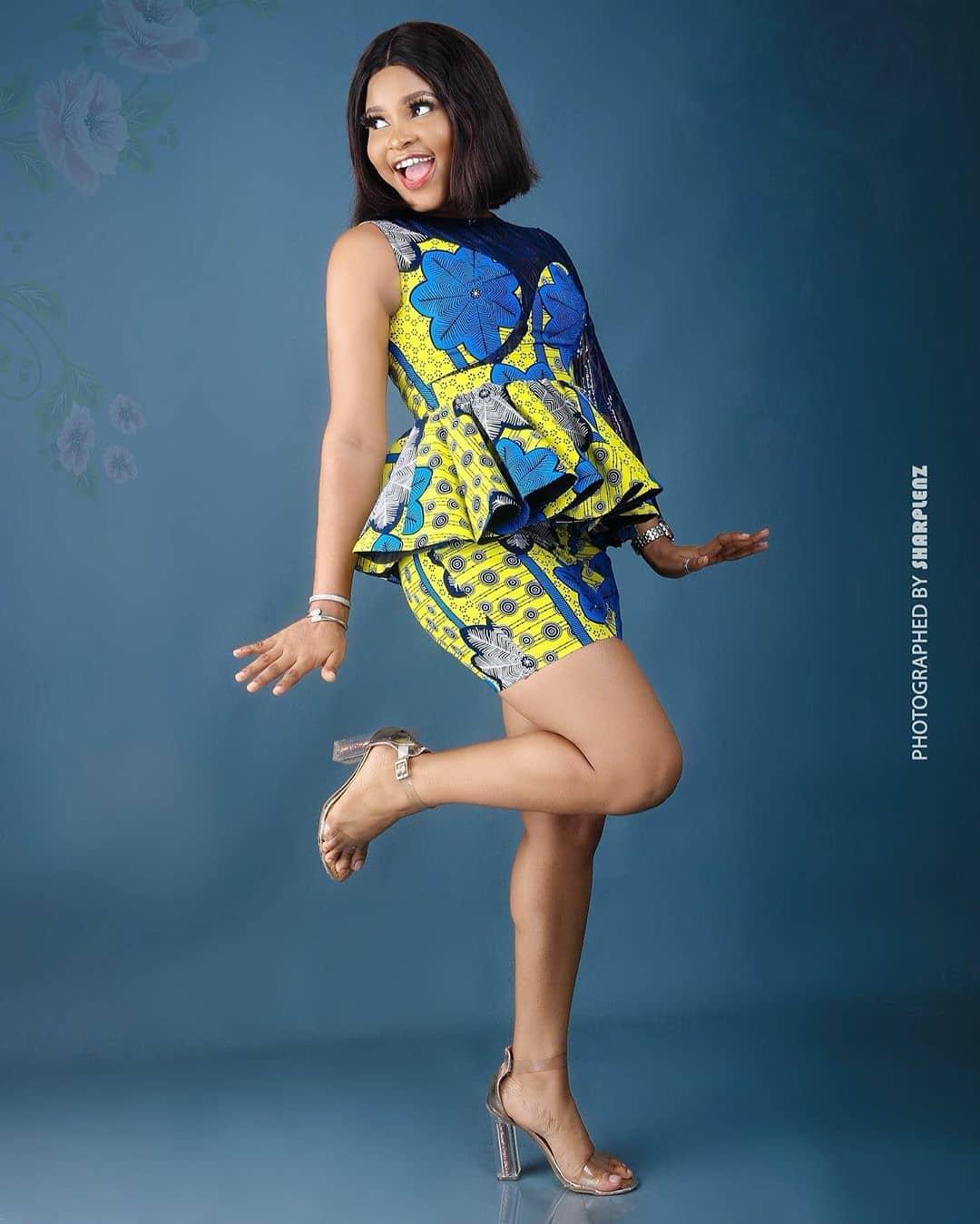 Ankara skirt and blouse for weddings