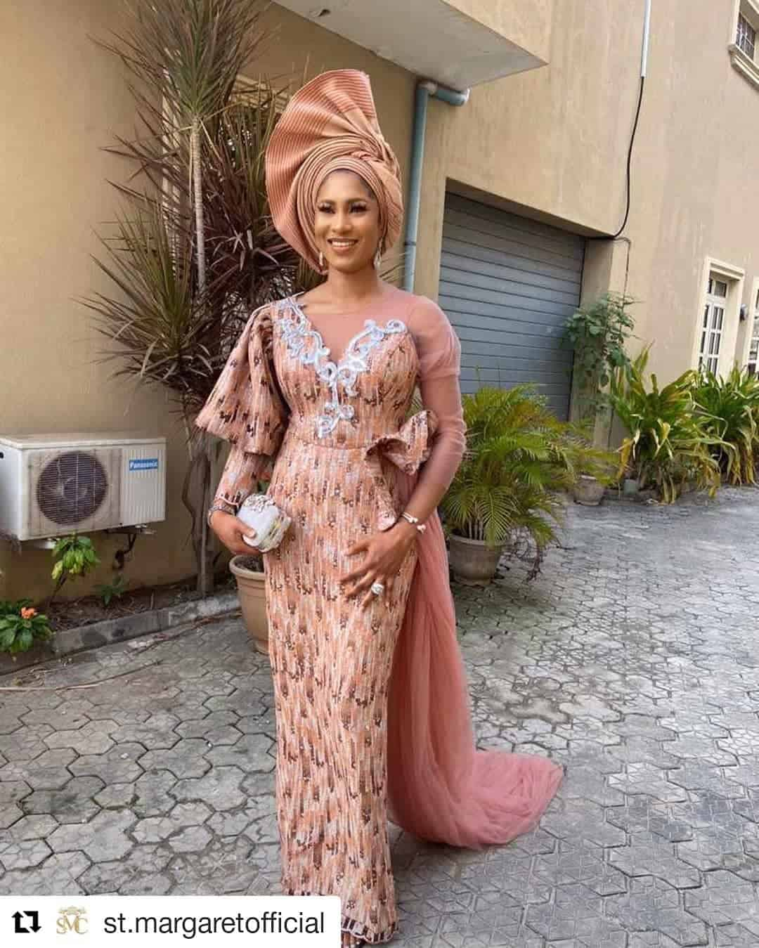 50 Latest Lace Style Designs For 2020 Updated Thrivenaija