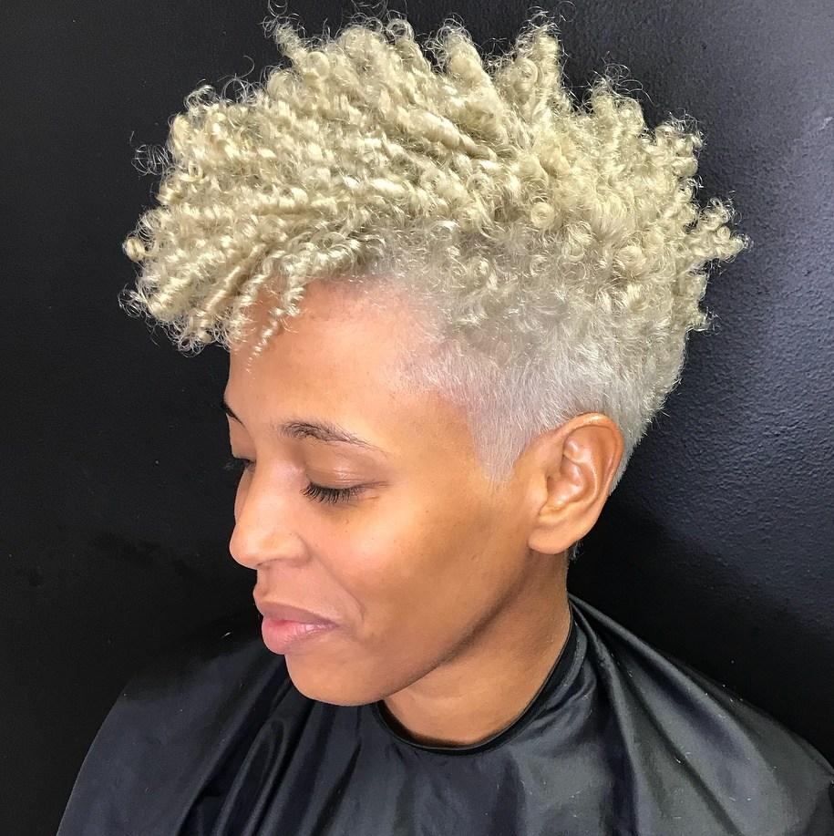 Half Low Cut Half Curls