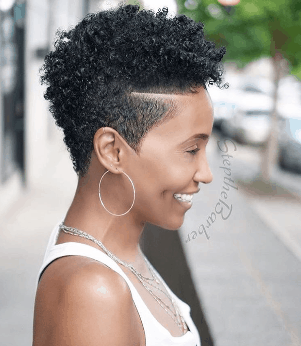 How to style short natural hair