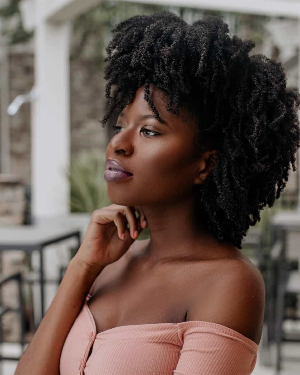 Afro hairstyles for natural hair