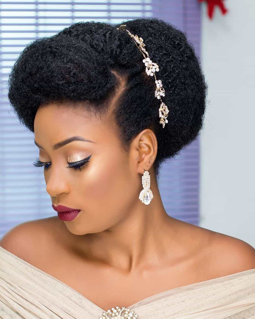 natural hair bridal hairstyles you can replicate
