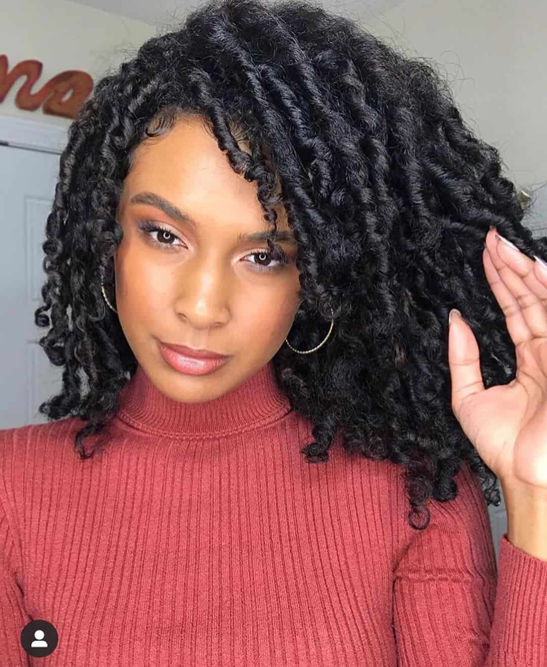 flat twist natural hair