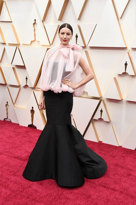 Caitriona Balfe's Outfit At The 92nd Oscar Awards Ceremony