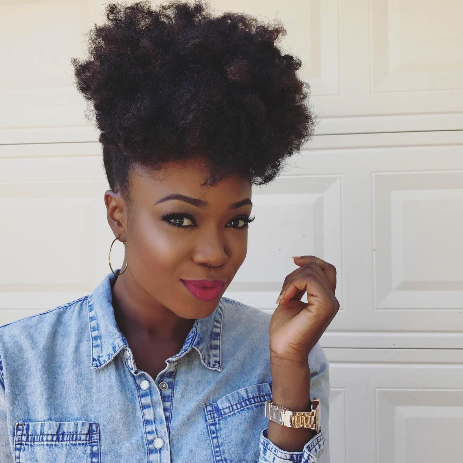 Natural Hair Afro