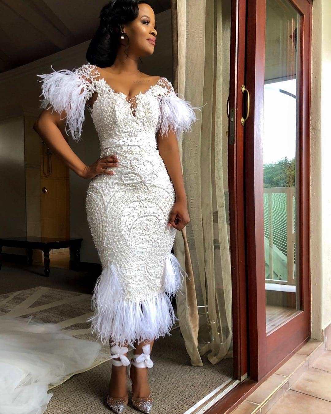 Average Gown Fringe Style