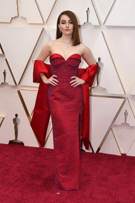 Kaitlyn Dever's Outfit At The 92nd Oscar Awards Ceremony