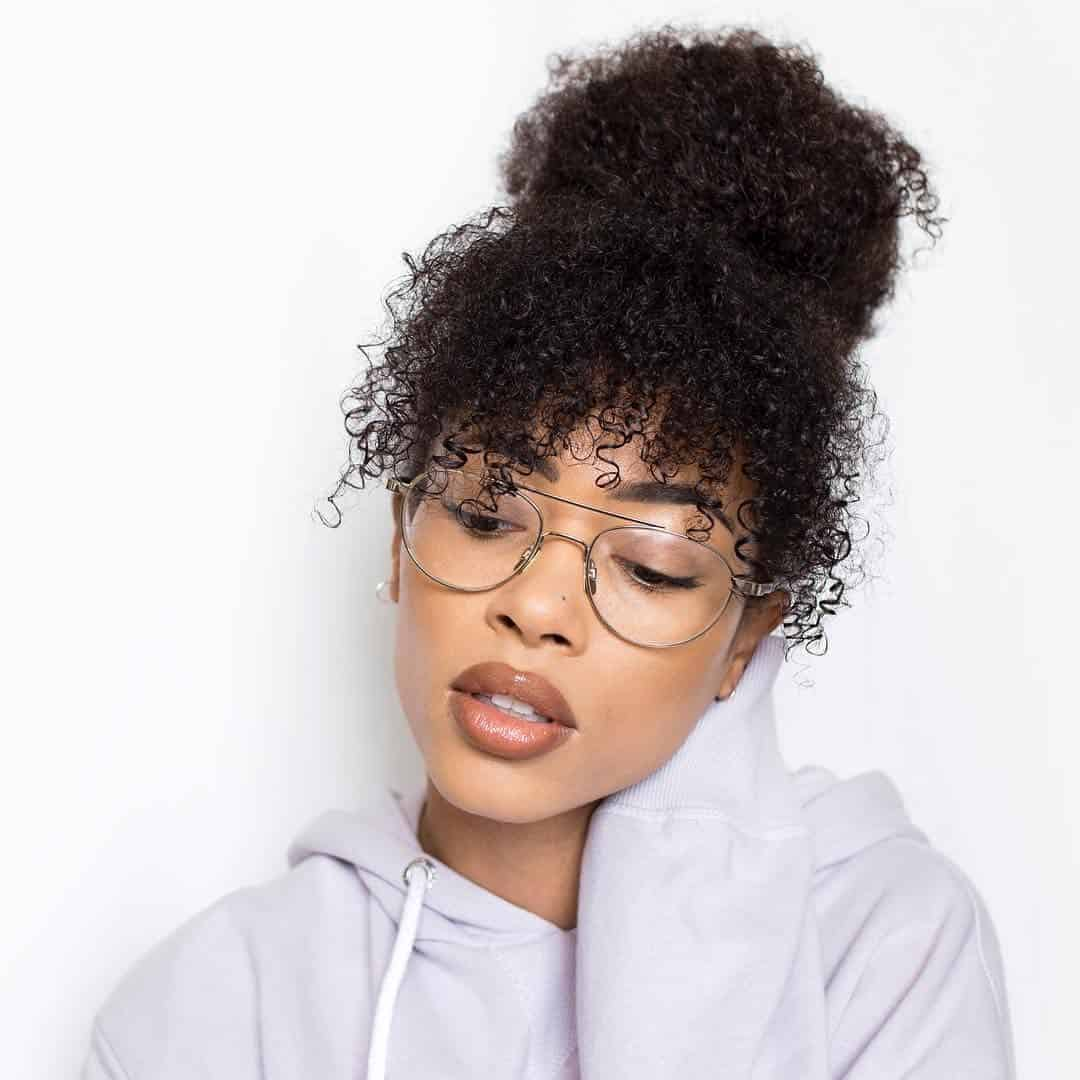 Naral hair bun