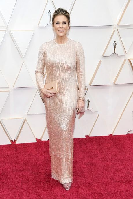 Rita Wilson's Outfit At The 92nd Oscar Awards Ceremony